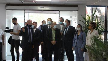 """Vizitë në KRU """"Gjakova"""" nga Komisioni për Ekonomi, Industri, Ndërmarrësi dhe Tregti"""
